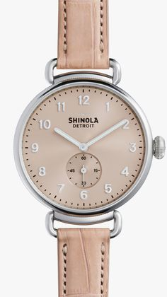 SHINOLA The Canfield 38mm