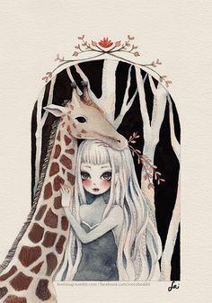 0519 Giraffe by LoveSoup.deviantart.com