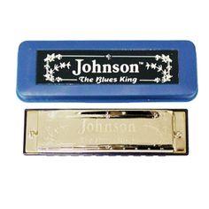 Johnson Blues King Harmonica, Key Of A