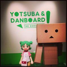 よつばとダンボー展。 #よつば #よつばと #ダンボー #yotsuba #yotsubato #danboard