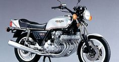 Honda auto - CBX   six-cylinder is an unforgettable impact.