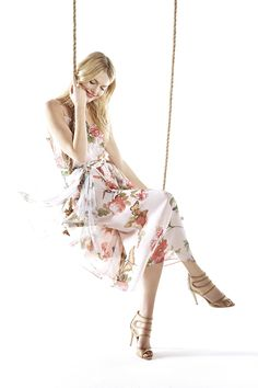The fairy tale comes to life in this romantic maxi dress from Eureka by Christos Garkinos