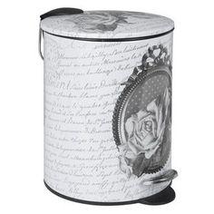 D rouleur papier toilette roses mathilde m zoom - Poubelles de salle de bain originales ...