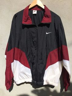 Vintage 90s nike windbreaker sweater jacket by JulianCollection