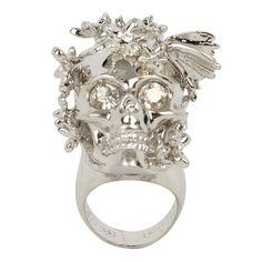 Alexander McQueen skull ring Couture, Tête De Mort, Accessoires, Bijoux, Bague  Alexander be24d952db6