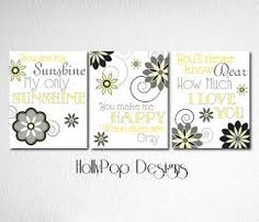 grey and yellow baby room ideas - Google Search