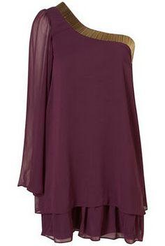 Cleopatra - Chiffon Bugle Dress - Rare - Topshop - £27.00