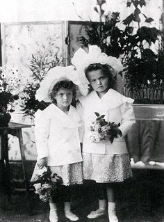 Olga and Tatiana