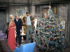 green acres | Christmas On The Green Acres Christmas Tv Shows, Christmas Episodes, Christmas Scenes, Christmas Past, Christmas Tree Ornaments, Christmas Specials, Holiday Movies, Christmas Figurines, Vintage Christmas Photos