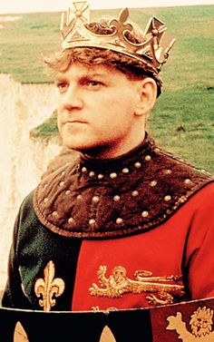 Kenneth Branagh as Henry V, film, 1989