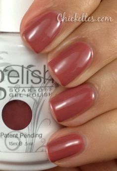 "Gelish - ""Exhale"" Is anyone aware of a color duplicate in regular nail polish?!?  I prefer regular polish for pedicures."