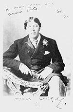 A photograph of Oscar Wilde, signed my dear friend andrè gide, dec Literary Heroes, Oscar Wilde, Dear Friend, Writer, Photograph, Friends, Fictional Characters, Celebrity, Writers