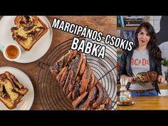 Csokis-marcipános babka - YouTube French Toast, Recipies, Beef, Cookies, Breakfast, Youtube, Food, Street, Kitchen