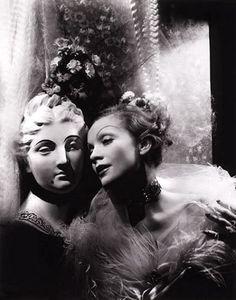 Marlene Dietrich by Cecil Beaton, 1935. Image via Pinterest, courtesy Southeby's.