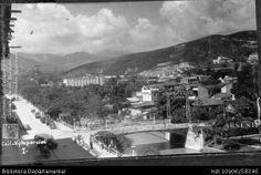 Pedro A. Riascos. Vista parcial de Cali en 1935. OTRO: Biblioteca Departamental Jorge Garcés Borrero.