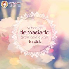 #Cuidatupiel #Belleza #Frase #CremasMyryam