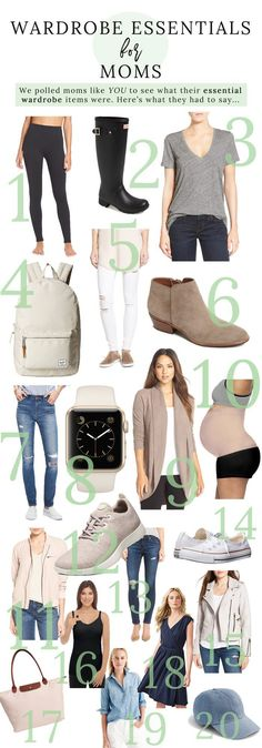 Are you a mom struggling to find stylish outfit pieces? Tired of the same old mom uniform? This Modern Motherhood Blogger is sharing the best Wardrobe Essentials for Moms.