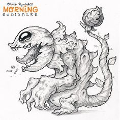 Carnivorous plant Kaiju!