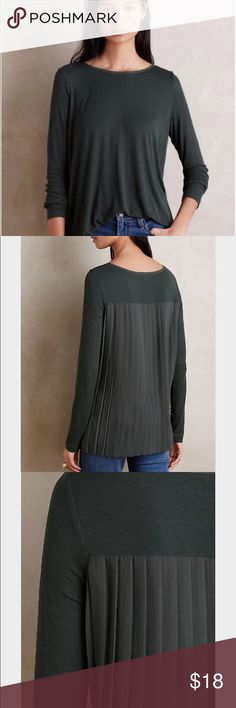 Anthropologie Bordeaux Anly Pleated Top Like new, Anthropologie Bordeaux Anly Pleated Top. Super soft! Anthropologie Tops Blouses