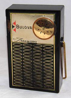 https://flic.kr/p/A53YYf | Vintage Bulova Model 680 Transistor Radio, AM Band Only, 4 Transistors, Made In USA, Circa 1959