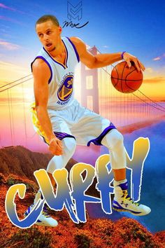 "292 Stephen Curry - Golden State Warriors NBA Basketball MVP 14""x21"" Poster"