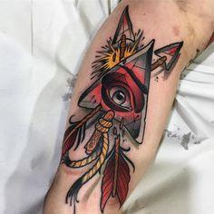 Eye Of Ra Tattoo, All Seeing Eye Tattoo, Neo Tattoo, Bicep Tattoo, Traditional Tattoo Artwork, Traditional Tattoo Sketches, Traditional Tattoo Design, Hand Tattoos, Sleeve Tattoos