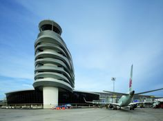 Edmonton Airport Offices and Control Tower / DIALOG / Canada #architecture
