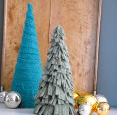 At Family Chic, learn how to make gorgeous Christmas trees while recycling those out of style sweaters! Pin It