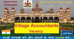 Mysore DC Office Recruitment 2017 for 105 VA Posts Online Apply