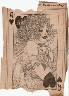 Nell Brinkley, illustrator for the Hearst newspapers from 1907 at age 22. Her characters and flapper girls were legendary.