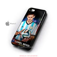 Lionel messi Argentina FIFA World Cup 2014 Brazil Football Club iPhone 5 5s Case