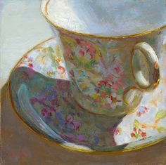 Tea Cup Full of Springtime!