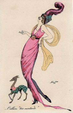 Early art deco darling