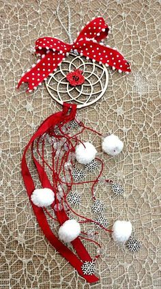 Glücksbringer für Weihnachten Christmas Tree, Christmas Ornaments, Tree Skirts, Favors, Holiday Decor, Home Decor, Arts And Crafts, Christmas, Schmuck