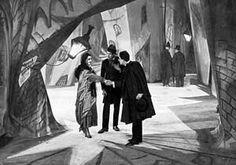 CINEMA: Italian Futurism influenced German Expressionism. The Cabinet of Dr. Caligari (1920),  Nosferatu (1922) ...