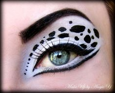 Dalmatian Style http://www.makeupbee.com/look.php?look_id=69634