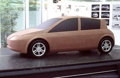 Renault Megane II - Early third-scale clay model