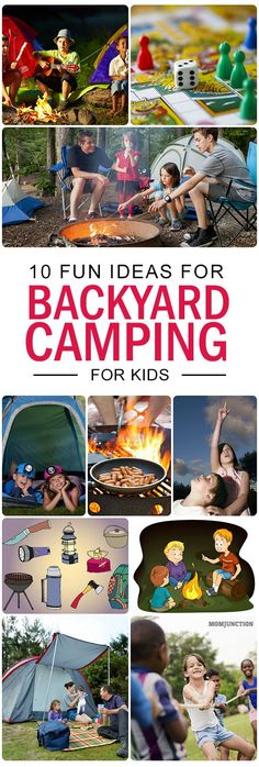 Backyard Camping For Kids: If you have time restraint, you can pitch a tent in the backyard itself. It will give you the joy of camping within the comforts of your neighborhood! Want to know ten tips to go backyard camping? Read on!