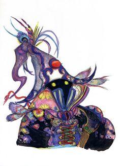 Yoshitaka Amano - Final Fantasy IX