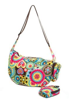 The Very Lovely Bag Company Psychedelic Slouch Bag