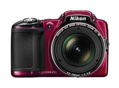 Nikon COOLPIX L830 16 MP CMOS Digital Camera with 34x Zoom NIKKOR Lens and Full 1080p HD Video (Red)   for more details visit :http://photocamera.megaluxmart.com/