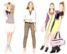 Forever 21 débarque en France Paulette Magazine, 21st, Forever 21, Chiffon, France, Image, Fashion, Silk Fabric, Moda