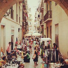 Rastro de la Virgen. Vintage Market. Barcelona