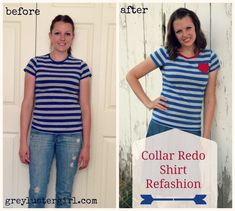 Collar refashion