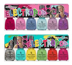 new 2012 spring collection/ China Glaze 'Electropop' nail polish