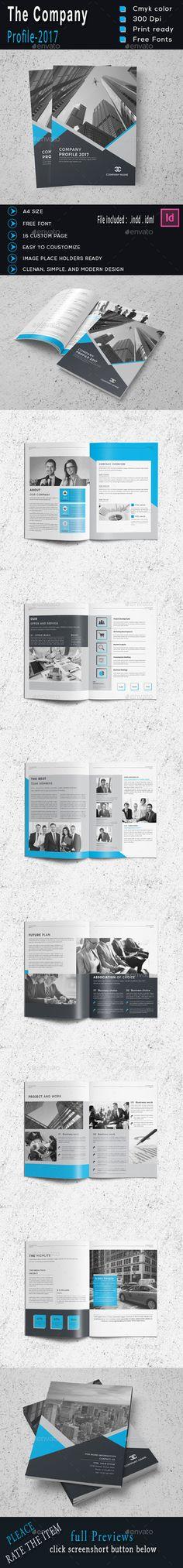 Corporate Bi-Fold Brochure   Brochures, Design and Brochure template