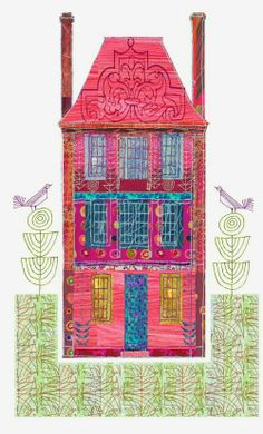 Beautiful, uplifting house posters from Nancy Nicholson