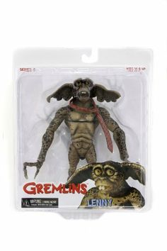 NECA Gremlins - Lenny Gremlin Action Figure by NECA. $13.10. Includes 13 points of articulation. Great quality figure from Neca. Includes detailed movie accessories. From the Manufacturer                With 13 points of articulation, Lenny Gremlin comes with his trademark goof expression and a necktie.                                    Product Description                The villainous Gremlin monsters are represented in this new assortment to celebrate the su...