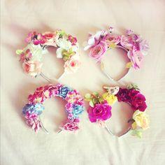 k is for kani etsy flower crown headband