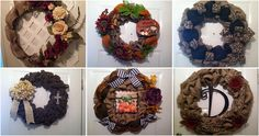 #Fall #Autumn #RusticHomeDécor ElsiesCreativeDesign.etsy.com  #Rustic #Burlap #RusticWedding #WeddingDecor #Country